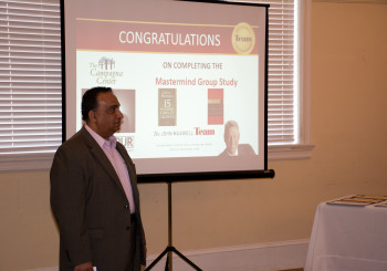 Certification Ceremony for Master Mind Group Study completion