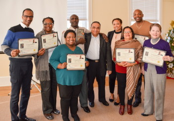 "Certification Ceremony for Mastermind on ""Everyone Communicates Few Connect"""